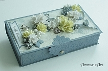 Pudełko na prezent, zdjęcia, biżuterię