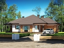Projekt domu parterowego Sułtan N