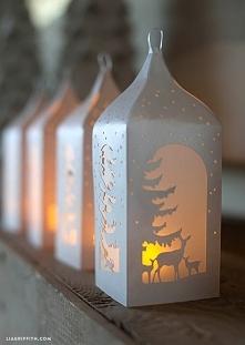 zimowe latarnie