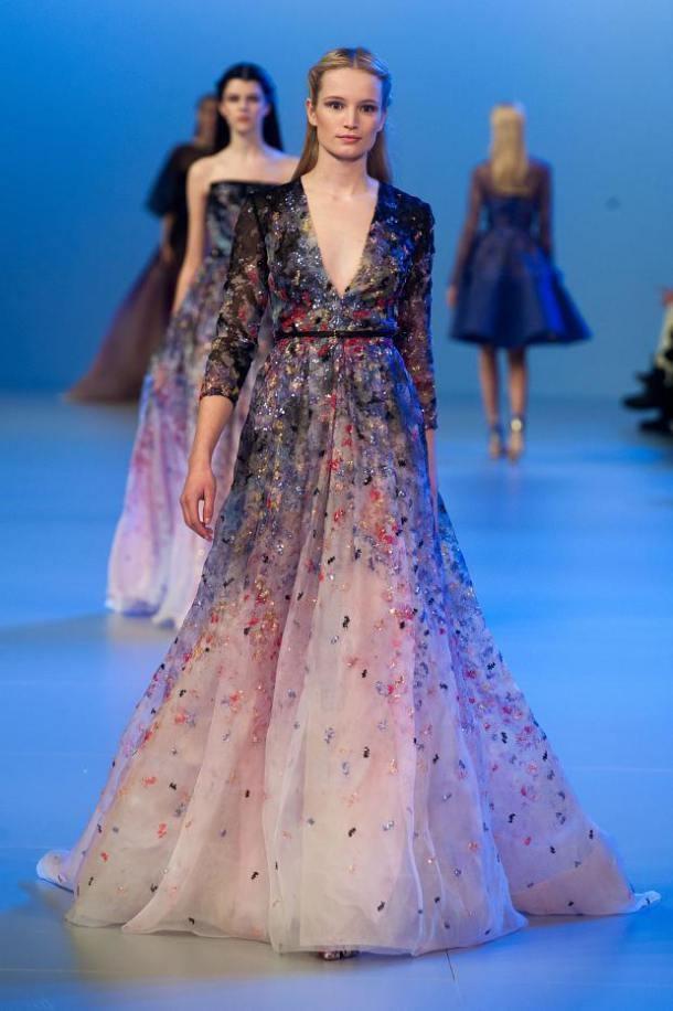 *** Elie Saab - Paris Haute Couture Fashion Week - Spring 2014 ***