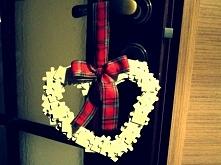 dekoracja/zawieszka w kształcie serca