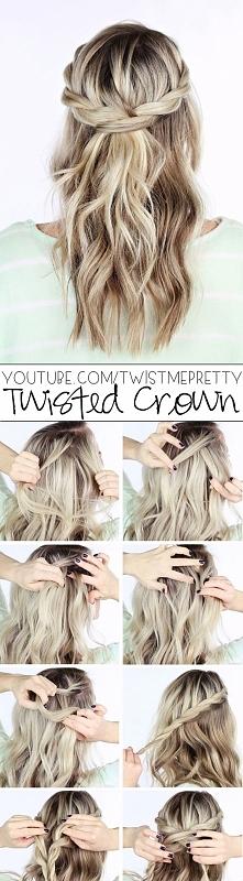 twisted crawn