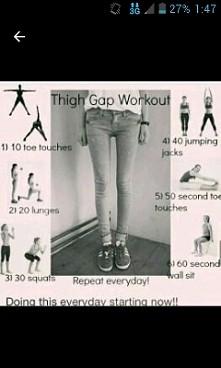 ćwiczenia na przerwę między udami