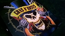 Skrzynka na płyty dla fana guns n roses idealna na prezent...