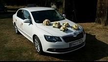 Nasze auto w dniu ślubu ;)