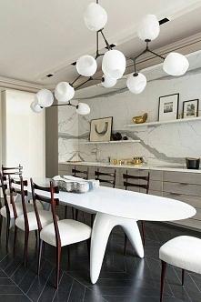 Kuchnia futurystyczna i elegancka <3 Więcej inspiracji na blogu moojconcept .com ZAPRASZAM