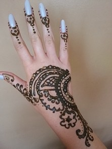 henna sama robilam jeszcze ...