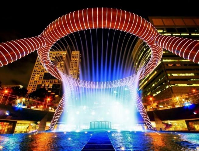Fontanna Bogactwa – Singapur