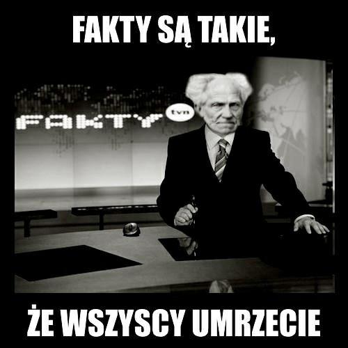 Artur Schopenhauer Mems Na Cytaty Teksty Zszywkapl