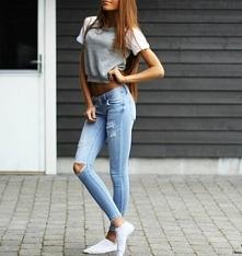 Śliczne jeansy <3