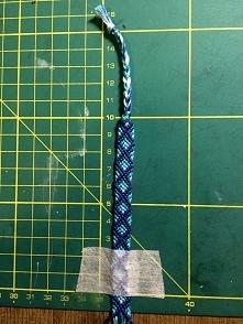 moje dzieło, bransoletka z muliny :))