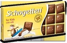 Czekolada Schogetten for kids with milk Czekolada dla dzieci z mlekiem