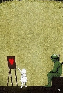 Banksy, daje do myślenia