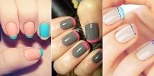 Francuski manicure inaczej – 13 ciekawych inspiracji