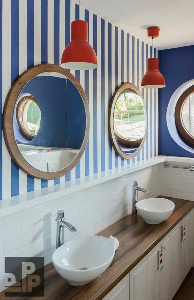 łazienka Styl Marynarski Na Pomysły Zszywkapl