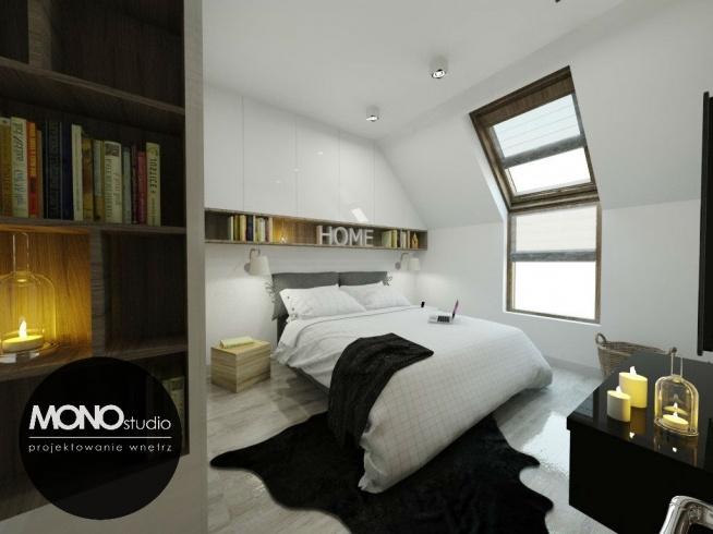 Delikatna sypialnia utrzymana w bieli dla eleganckiej i nowoczesnej kobiety. p.s Więcej naszych projektów znajdziesz na wwwmonostudiopl . Zajmujemy się projektowaniem oraz urządzaniem wnętrz pod klucz . Masz pytania ? Napisz , chętnie odpowiemy na każde :)