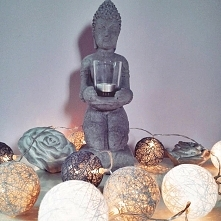 Budda + Cotton Balls = <3