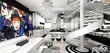 NO ENTRY | salon w nowoczesnym apartamencie