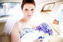 Paulina i jej dwukolorowa suknia ślubna