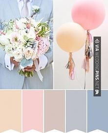 kolorystyka ślubna