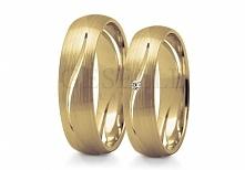 ST 247 Pożądany model obrączek ślubnych! - klasyczne, żółte złoto, oryginalny...