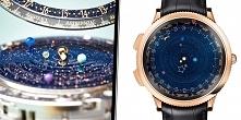 Zegarek z układem planetarnym