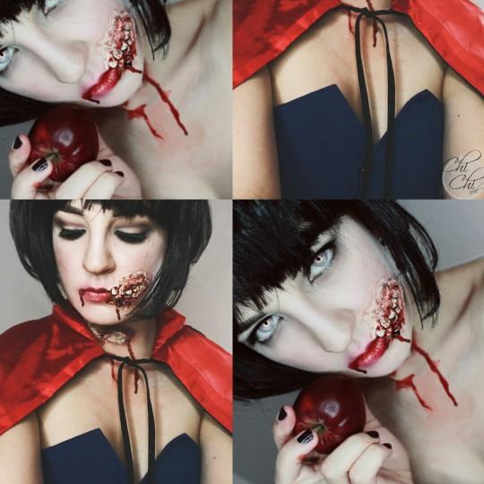 Krwawa Królewna Śnieżka :D zapraszam na FB-> Chi-Chi nail