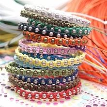 bransoletki sznurkowe  kliknij na zdjęcie by przejść do sklepu