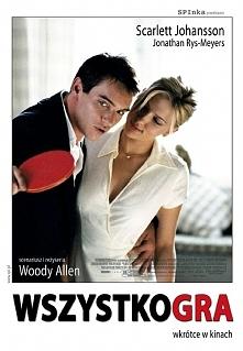 Wszystko gra...  Chris Wilton rezygnuje z kariery tenisisty i zostaje instruktorem w klubie dla bogaczy. Wkrótce żeni się z córką przemysłowego potentata i wdaje się w romans z ...