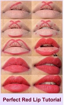 Jak malować usta :D
