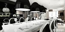luksusowa jadalnia z dużym stołem | ANGEL WINGS