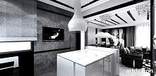 biało-szara kuchnia z wyspą   YOUR STORY, OUR STORY   nowoczesne wnętrza domu