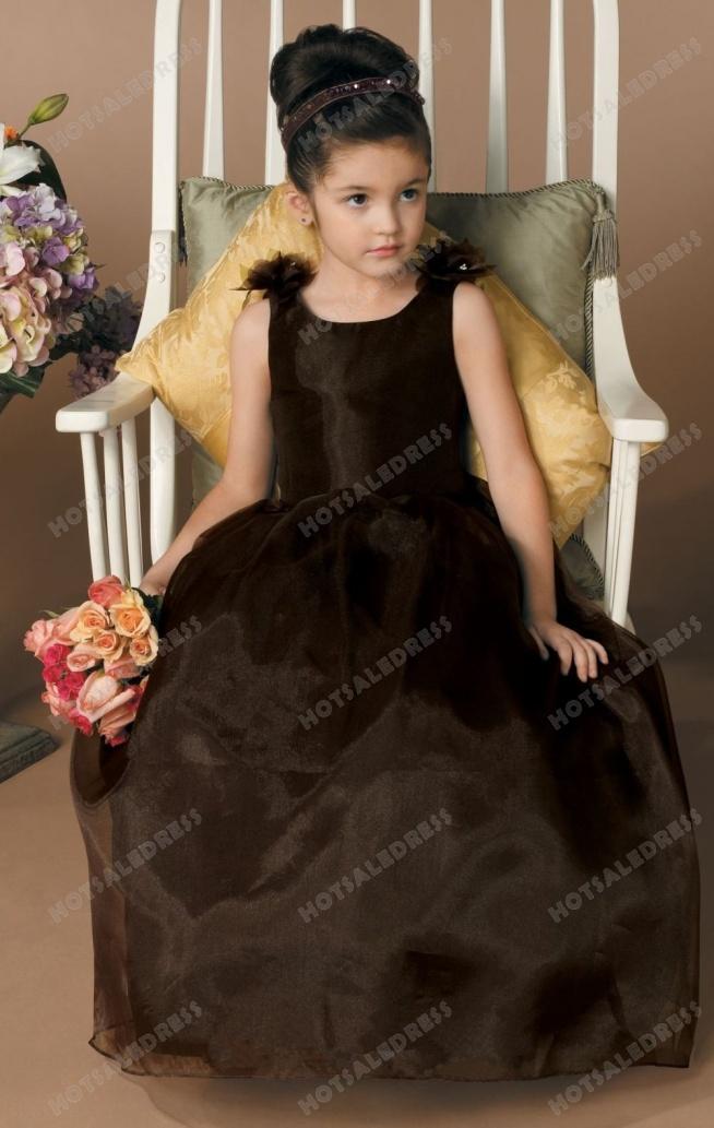 V-back Organza Dress By Jordan Sweet Beginnings Collection L910