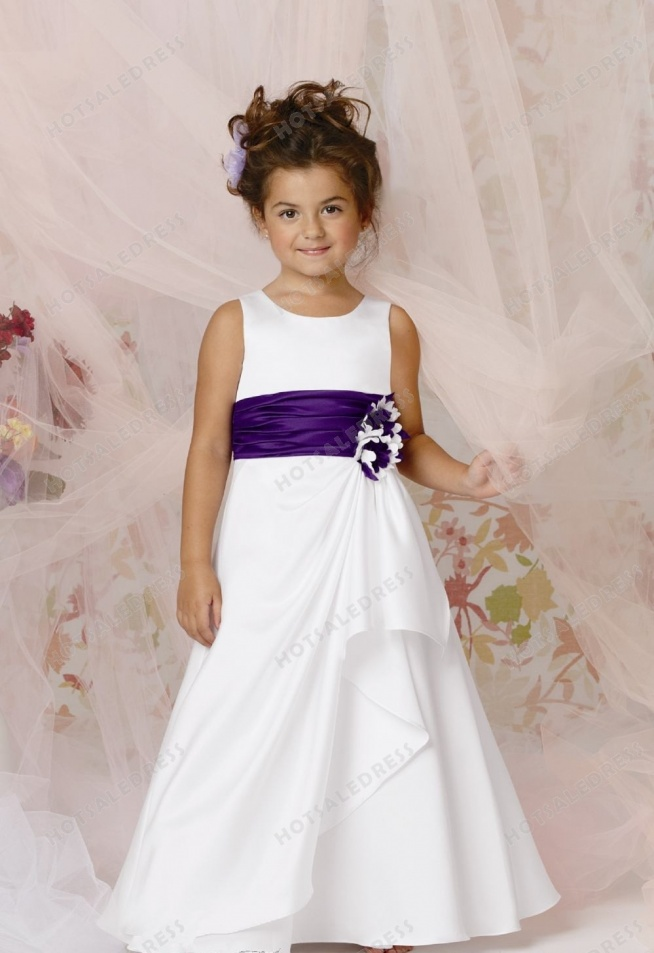 Draped A-Line Gown By Jordan Sweet Beginnings Collection L289