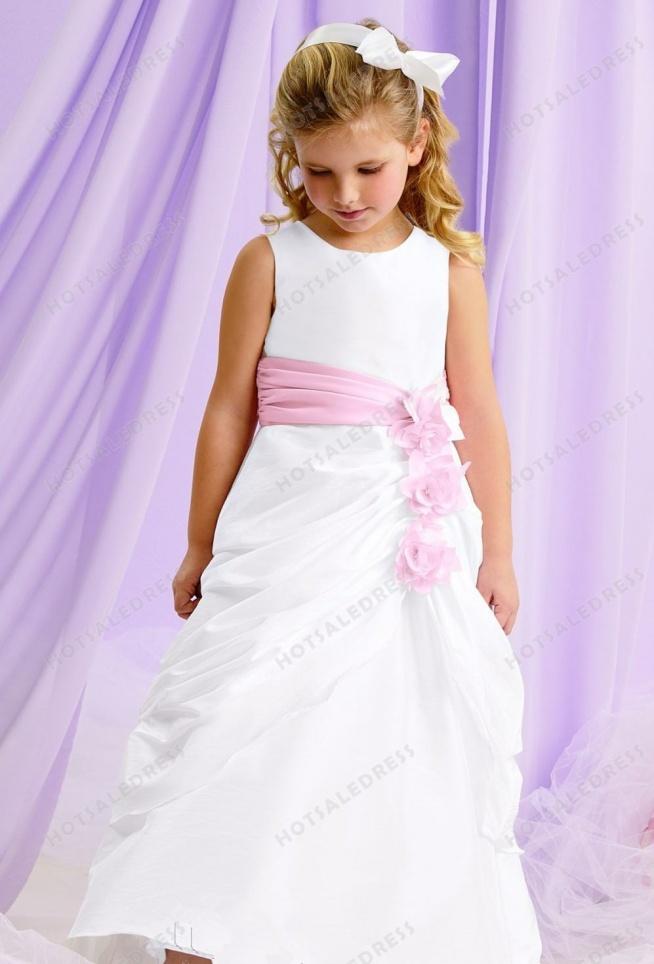 Taffeta Flower Dress By Jordan Sweet Beginnings Collection L121