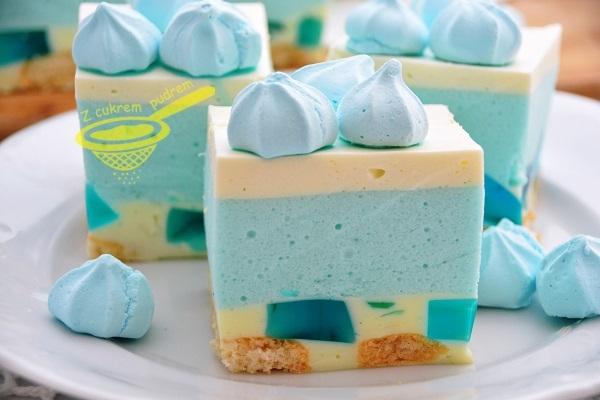 Smerfetka - ciasto bez pieczenia bez pieczenia