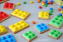 Przepis na ciasteczka Lego po kliknięciu na zdjęcie :) Super pomysł na Dzień ...