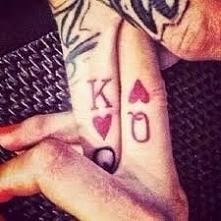 świetny tatuaż dla pary.Mi ...