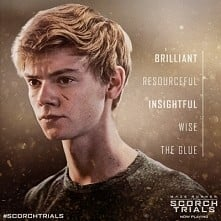 Newt is the glue that holds the Gladers together.