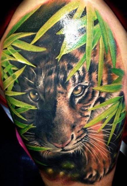 Tygrys Na Tatuaże Zszywkapl