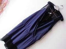 Sukienka DAGMAR granat Rozm. L Cena: 55 PLN