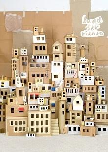 tekturowe miasteczko