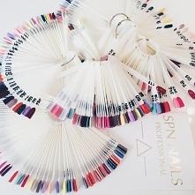 Gdy za oknem szaro, na paznokciach może być kolorowo!!  Nasza kolekcja lakierów hybrydowych - UV LaQ SPN Nails
