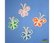 Cztery Kolorowe Motylki - D...