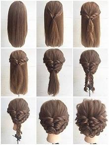 Szybkie i bardzo efektowne fryzury
