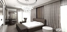 beżowa sypialnia - ponadcza...