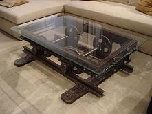 Ale ten stolik to jest dopiero pomysł.Szacunek.