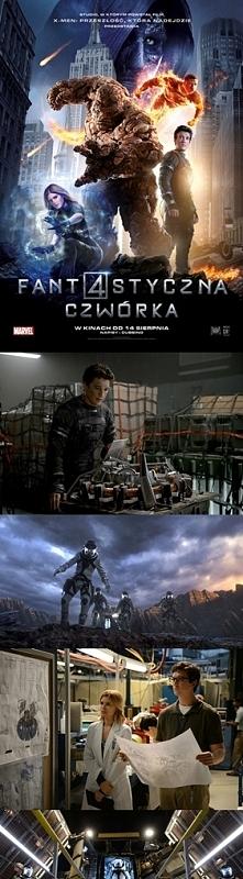 Fantastyczna Czwórka / Fantastic Four (2015) - Kolejny film MARVELA. Zainteresował i podobał mi się do pewnego momentu. Ostatnia scena walki nie powaliła mnie na kolana. Mimo to...