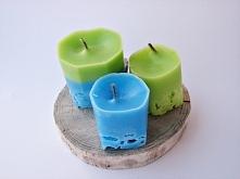 Świece z lodu / Candles with ice tutorial twojediy.pl