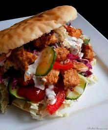 Domowy Kebab (Kebab z Kurczaka) przepis po klikn.